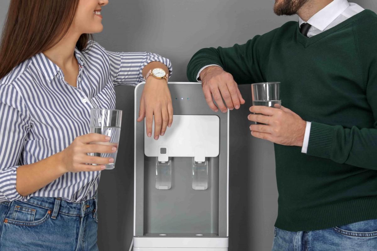 avantages employes entreprise fontaine eau