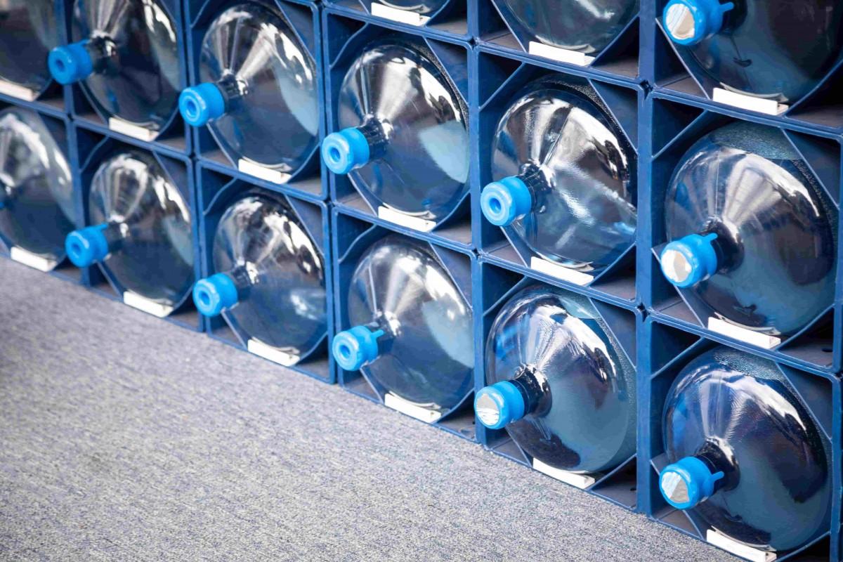recyclage bonbonne eau