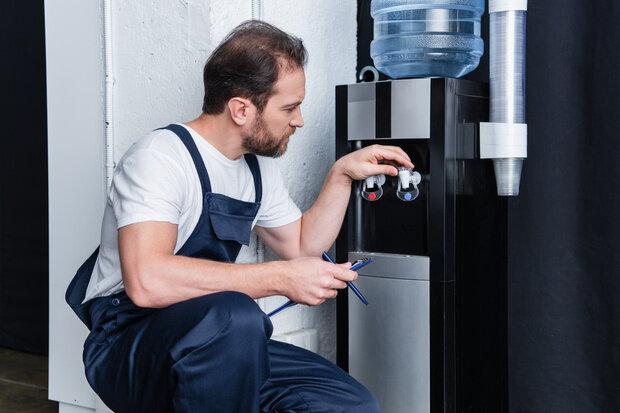 Intervention technicien fontaine a eau