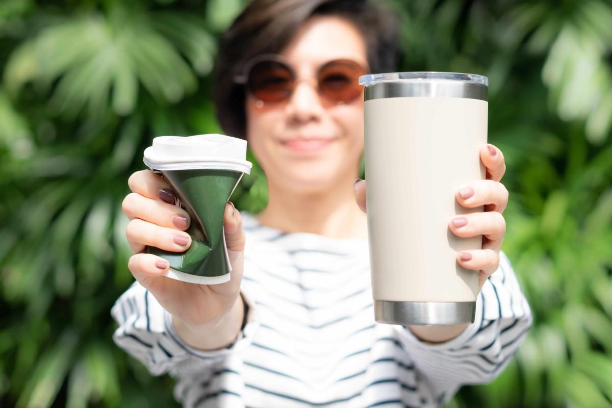 Les gobelets écologiques recyclables