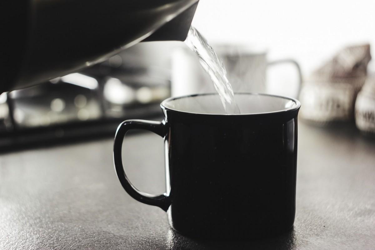 Température et qualité d'eau pour le thé